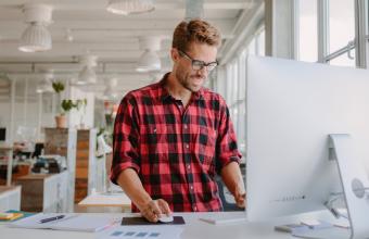 Template based versus custom-built websites