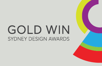 Tiny Hunter Wins Gold at Sydney Design Awards
