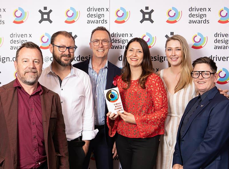 SYdney Design Awards Tiny Hunter Gold Win