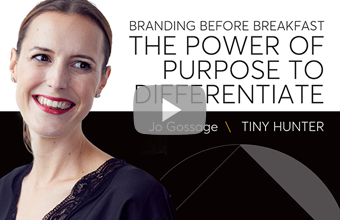 The power of purpose to differentiate your brand